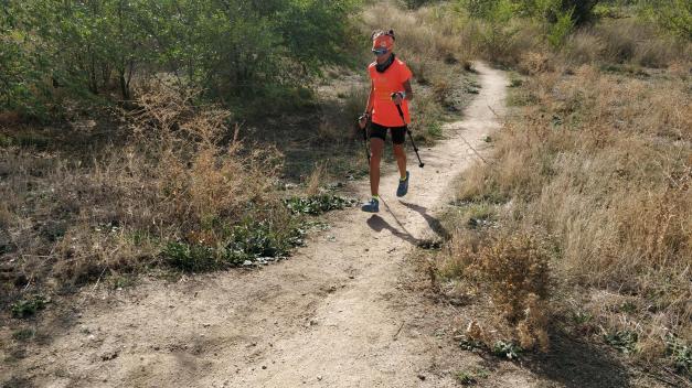 Bastón de trekking Bivara Carbono, serie 28